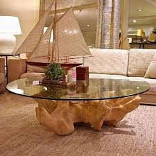 tree trunk glass dining table adorable 55 elegant stump end table diy