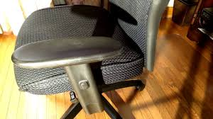 hon big and tall executive chair mesh office chair with adjule arms black vl705