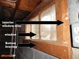 basement windows interior. Removing Old Window And Interior Wood Trim Basement Windows N