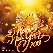 New Best Animated Gif Happy New Year 2019 Card Download On Davno