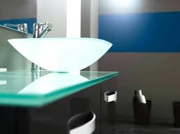 glass vanity top with integrated sink amazing of glass vanity tops bathroom the most bathroom vanity