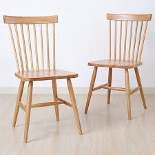 Trieste Windsor Country Style Dining Chairs Set Of 2  Free Country Style Chairs