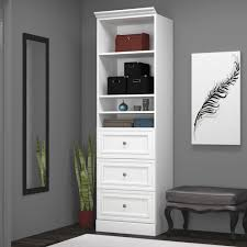 Closet Tower With Drawers White Closet Tower With Drawers Decorative Furniture