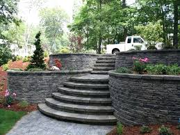 backyard retainer wall ideas clever design landscape design retaining wall ideas contractors backyard wood retaining wall ideas