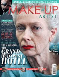 make up artist magazine issue 108 character cover makeupmag