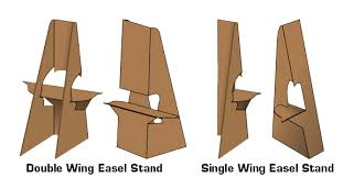 Cardboard Easel Display Stand Beauteous Cardboard Easel Display Stand Easels Indy Imaging Inc 32
