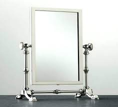 table top lighted vanity mirror appealing table top mirrors for your space within table top lighted