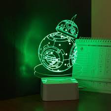 unique childrens lighting. USB Novelty 3D Visual Night Lights For Children Star Wars Robot BB 8 Touch Dimming Desk Table Led Lamp As Creative Gift Lampara-in From Unique Childrens Lighting H