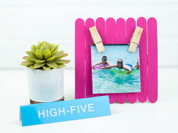 diy photo frame diy picture frame popsicle picture frame popsicle frame