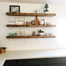 Cool Design Walnut Floating Shelves Amazing The Container Store