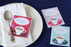 Tea Party Printable And Giveaway From China Village