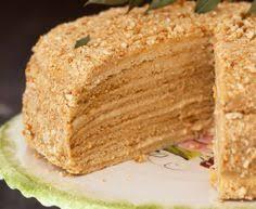 Medovik – Honey cake III with Cream Filling