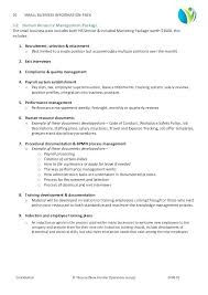 Human Resources Policy Manual Template – Poquet