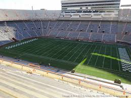 Neyland Stadium View From Upper Level Aa Vivid Seats