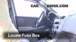 chevy bu fuse box location interior fuse box location 2005 2009 chevrolet equinox 2005 interior fuse box location 2005 2009 chevrolet