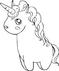 Cute Unicorn Coloring Pages Getcoloringpagescom
