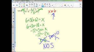 6 5 solving equations containing rational expressions