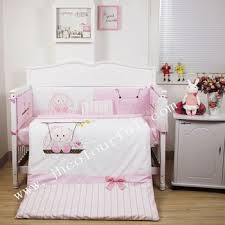 baby sheet sets lovely swing bunny baby bedding sets in pink color buy baby crib