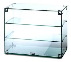 locking display cabinet wall mounted glass hung showcase cases corner