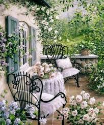 116 Best Cottage Gardens Images On Pinterest  Gardens English Romantic Cottage Gardens