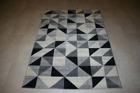 modern geometric rug quality modern black grey white geometric rug x pink and white geometric rug