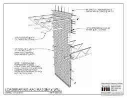 13 400 0101 Loadbearing Aac Masonry Wall International