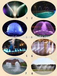 Small Picture Hot Sale Simple Style Pool Water Dancing Music Garden Fountain