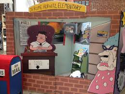 library displays captain underpants bulletin boards literacy pin boards