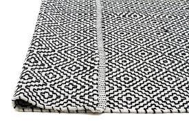 white rug with black diamonds black diamond soft cotton rug images 1 2 3 4