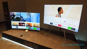 samsung tv qled. dubbed \u201cinvisible connection\u201d, it\u0027s basically an optical cable that\u0027s the only connection \u2013 bar power that qled sets require. samsung tv qled n