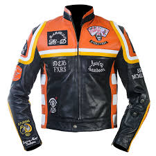 man mickey rourke biker leather jacket harley davidson hdmm