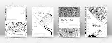 Cover Page Design Template Stylish Brochure Layout Charming