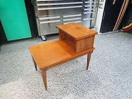 post 1950 step end table side table