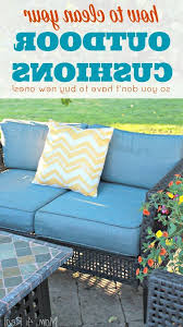 how to clean outdoor cushions how to clean outdoor furniture cushions