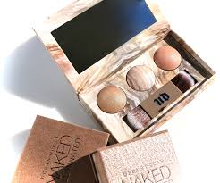 Urban Decay Naked Illuminated Trio Shimmering Powder ommorphia.
