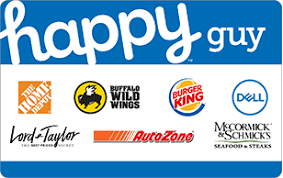 happy guy gift cards
