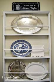 diy plate rack the best way to stack