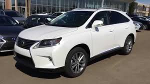 2016 lexus rx 350 awd white on parchment technology package review alberta