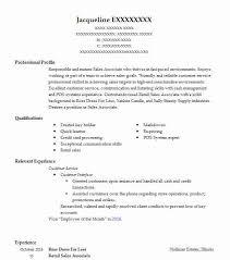 Skills For Retail Associate Retail Sales Associate Resume Example Ross Dress For Less