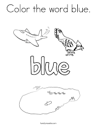 Small Picture The Color Blue Coloring SheetsColorPrintable Coloring Pages Free