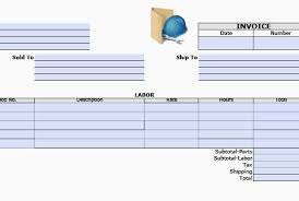General Contractor Invoice Unique Service Receipt Template Pdf Helpful Resumeplates General Contractor