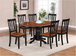 wonderfull 7 pc oval dinette kitchen dining set table w 6 wood seat chairs in awesome ideas kitchen island dining tables