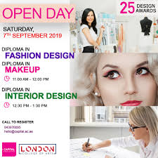 Beauty Design Open Day Sept 7 For Design And Beauty Capital Dubai Campus