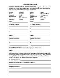 classification essay instruction prewriting activities by classification essay instruction prewriting activities