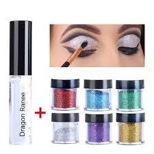 2017 brand makeup minerals eyeshadow powder waterproof gold blue cosplay eye shadow make up glitter lip