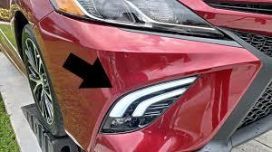 2017 Toyota Camry Led Fog Lights Toyota Camry 2018 Se Xse Oled Tube Fog Lights Upgrade Installation Tutorial