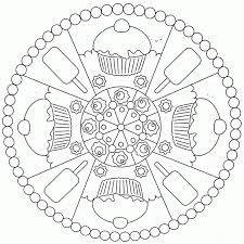 Mandala Coloring Pages Kids - Coloring Home