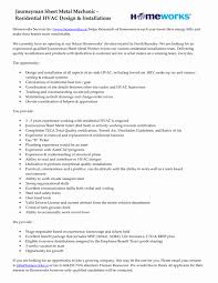 Ac Technician Resume Best Of Hvac Installer Resume Sample Examples ...