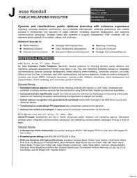 Public Relations Objective Resume Public Relations Resume Objective Buzzwords Pr Skills Templates 19