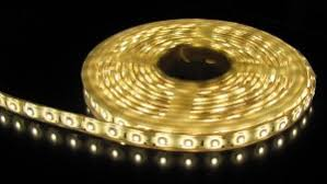led strip lights in your basement can be a beautiful accent underneath furniture or on your basement stairway lighting